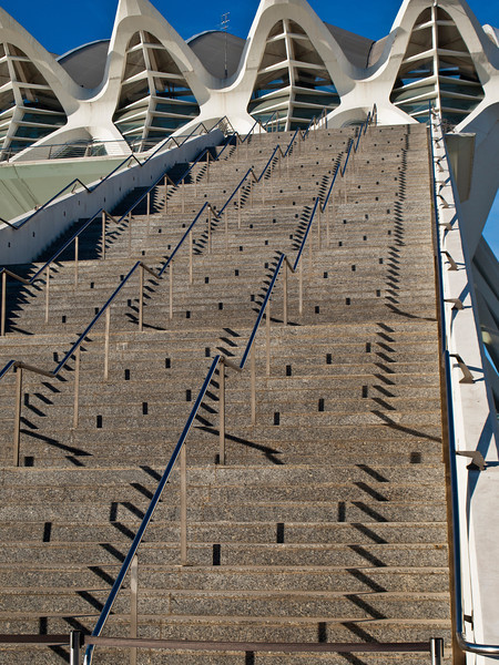 Science Museum steps, Valencia