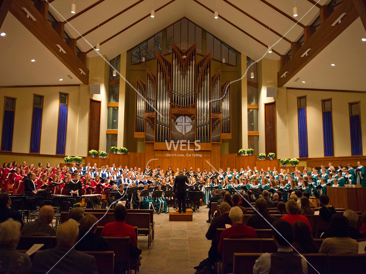 Chapel of the Christ Choral Concert by wpekrul