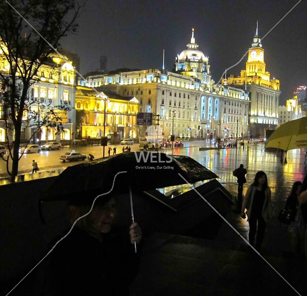Umbrella weather in Hangzhou China by kstellick