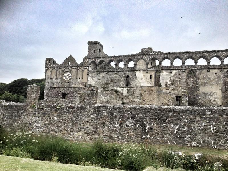 Palace at St David's Cathedral, Pembrokeshire, Wales.
