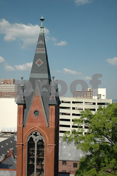 Church steeple, Birmingham, Alabama