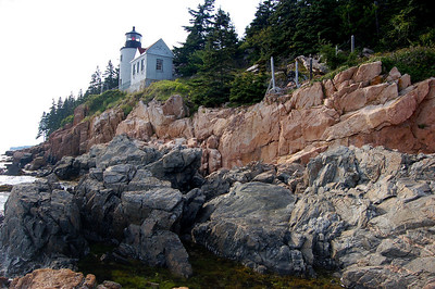 Maine, Bass Harbor Lighthouse