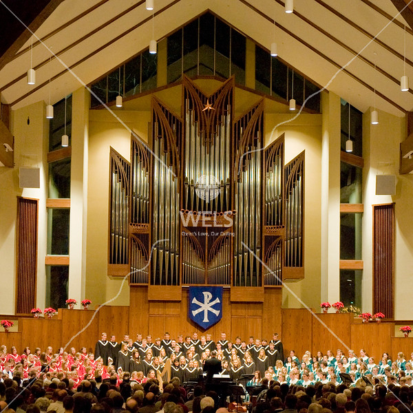 Chapel of the Christ and MLC Christmas Concert by wpekrul