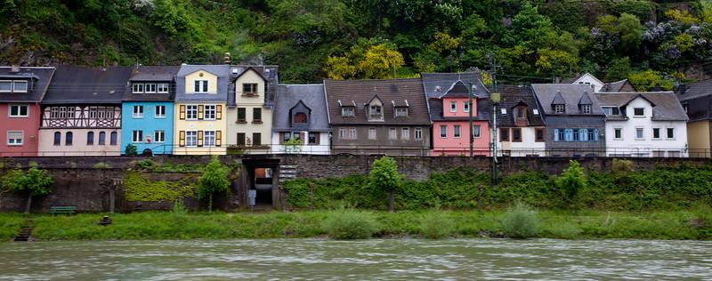 Village Along the Rhine
