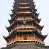 Pagoda in SuZhou, JiangSu Province, China by kstellick