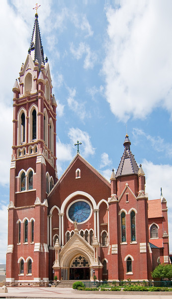 The Guadalupe Cathedral in downtown Dallas