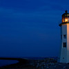 Scituate Lighthouse at Night