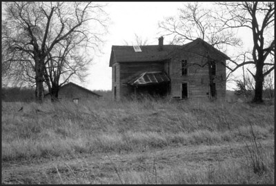Old Missouri farm house