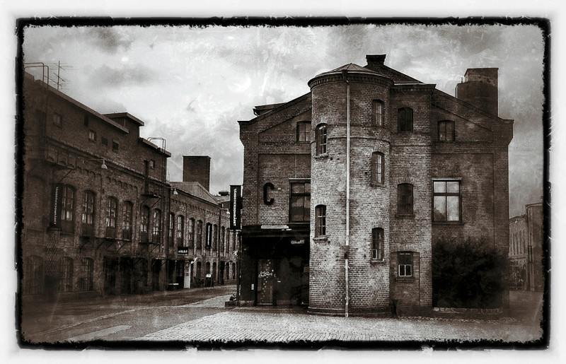 Old Match Factory buildings, Tandsticksomradet, Jonkoping, Sweden.