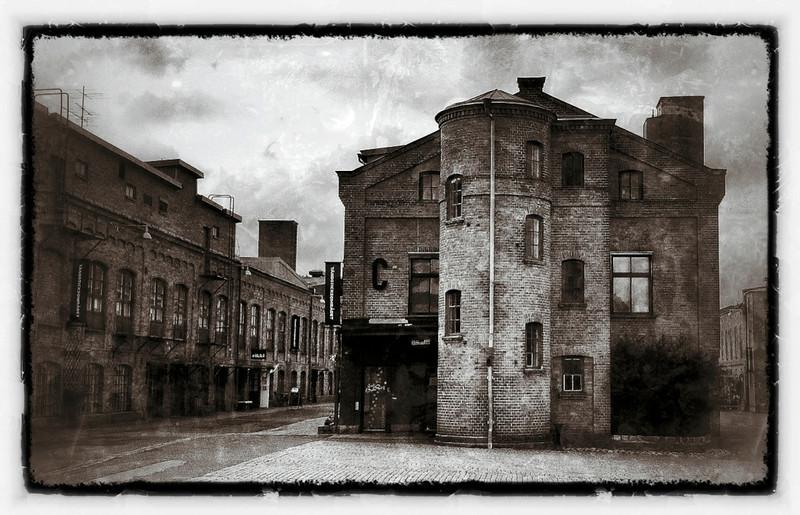 Old Match Factory buildings, Tandsticksomradet, Jonkoping, Sweden.