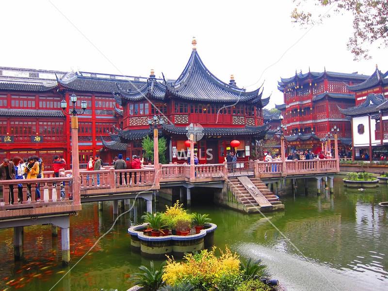 Yu Gardens, Shanghai, China by kstellick