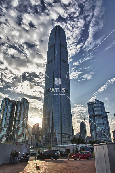 Tall Skyscraper in Asia by mspriggs