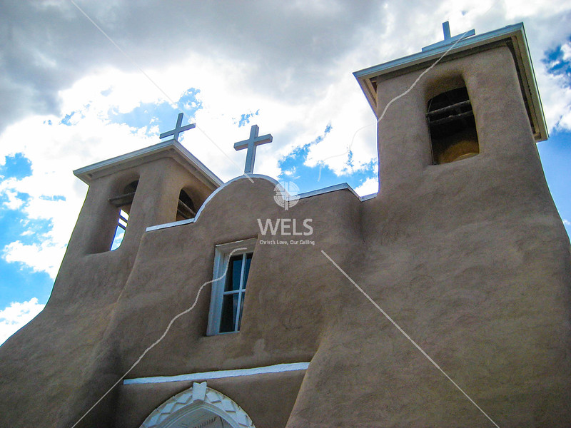 Old Adobe Mission Church by mspriggs
