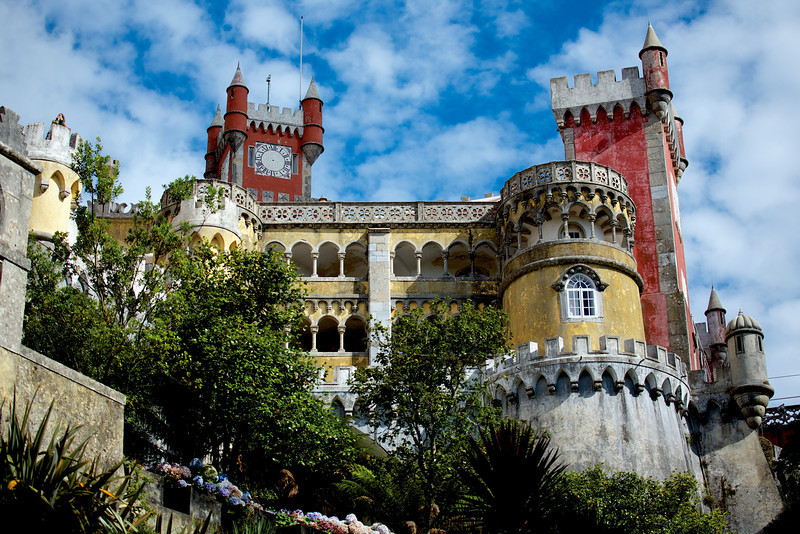 Monserrate Estate in Sintra, Portugal