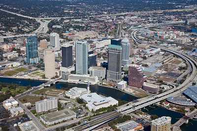Aerial View of Tampa, FL