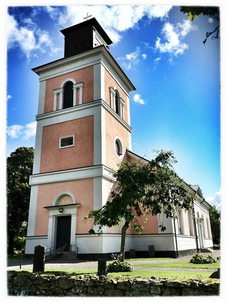Church at Barkeryd, near Nassjo, Sweden.