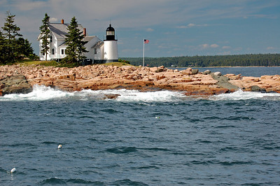Maine, Winter Harbor Light house