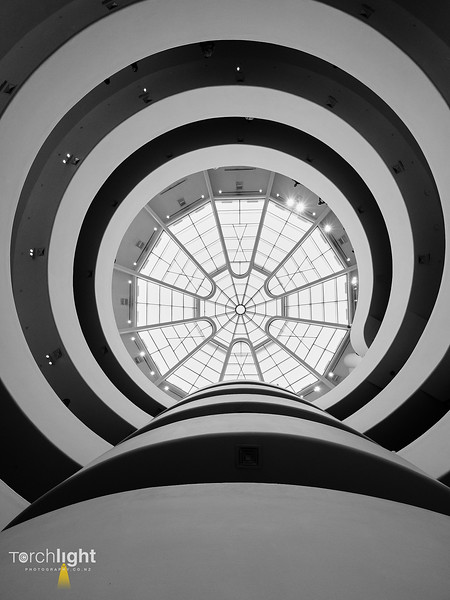 The Guggenheim Looking UP