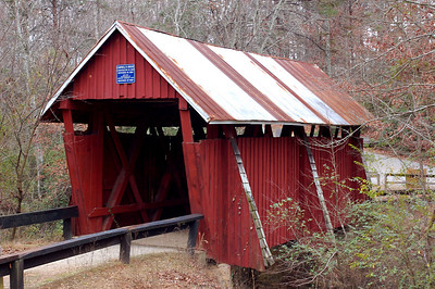 South Carolina, Greenville County, Campbell Covered Bridge