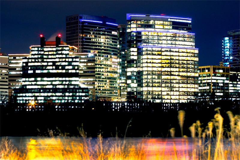 Arlington, Virginia Skyline at Night