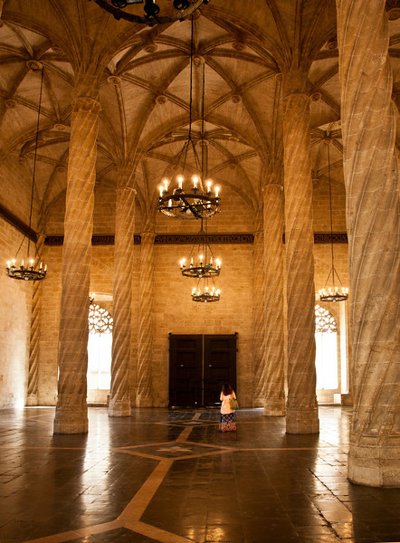 Silk Hall, Valencia