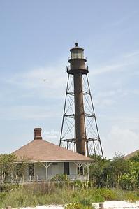 Sanibel Lighthouse  | Florida Nature, Landscape Photographer, Home Decor Prints, Architecture