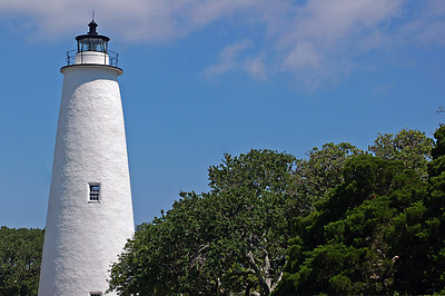 North Carolina, Outer Banks, Ocracoke Lighthouse