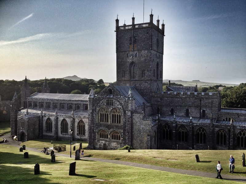 St David's Cathedral, Pembrokeshire, Wales.