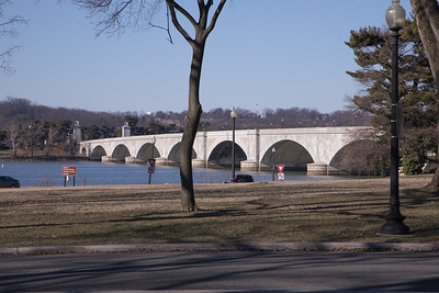 Arlington Memorial Bridge in Washington D.C.
