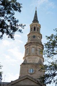 Architecture in the Historic District in Charleston, South Carolina