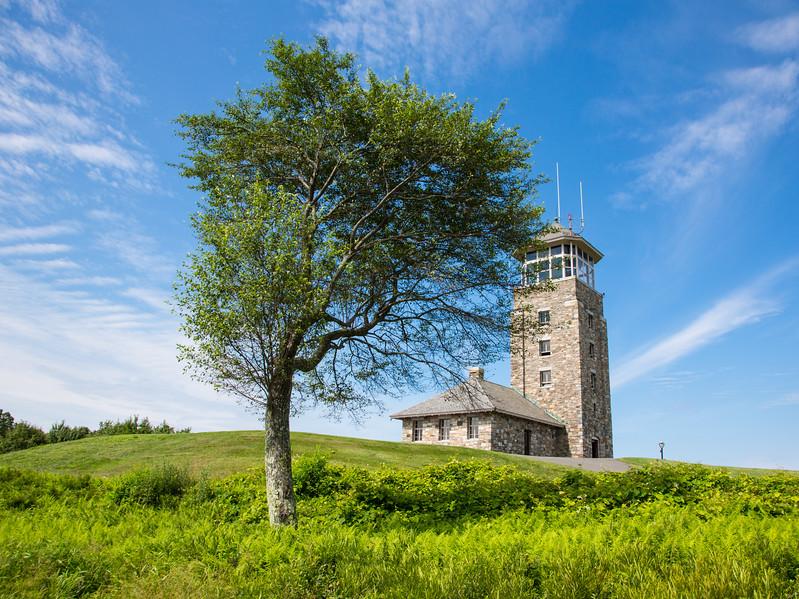 Quabbin Reservoir Outlook Tower