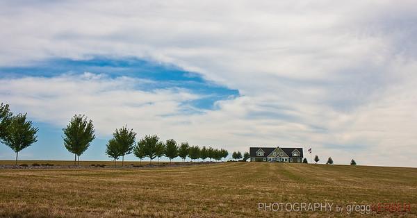 Farm house near Sublimity, OR