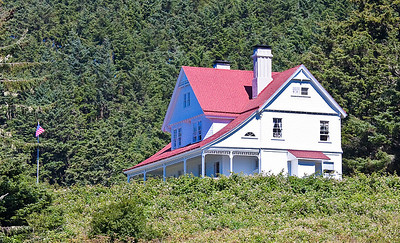 Caretaker's house, Heceta Head lighthouse, OR
