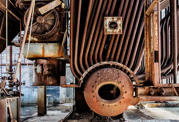 Old boiler, Mass MOCA