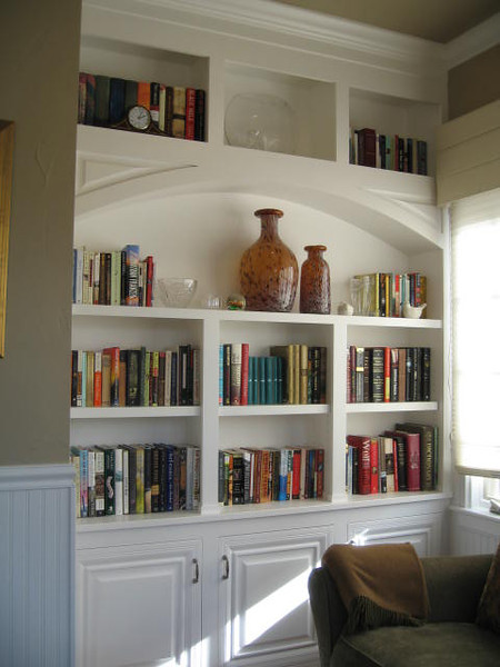 New Built-in for Country Club Sun Room