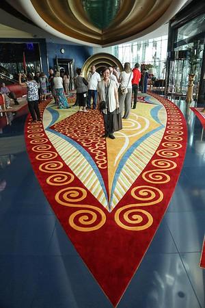 Shot taken at the lobby of Burj Al Arab.