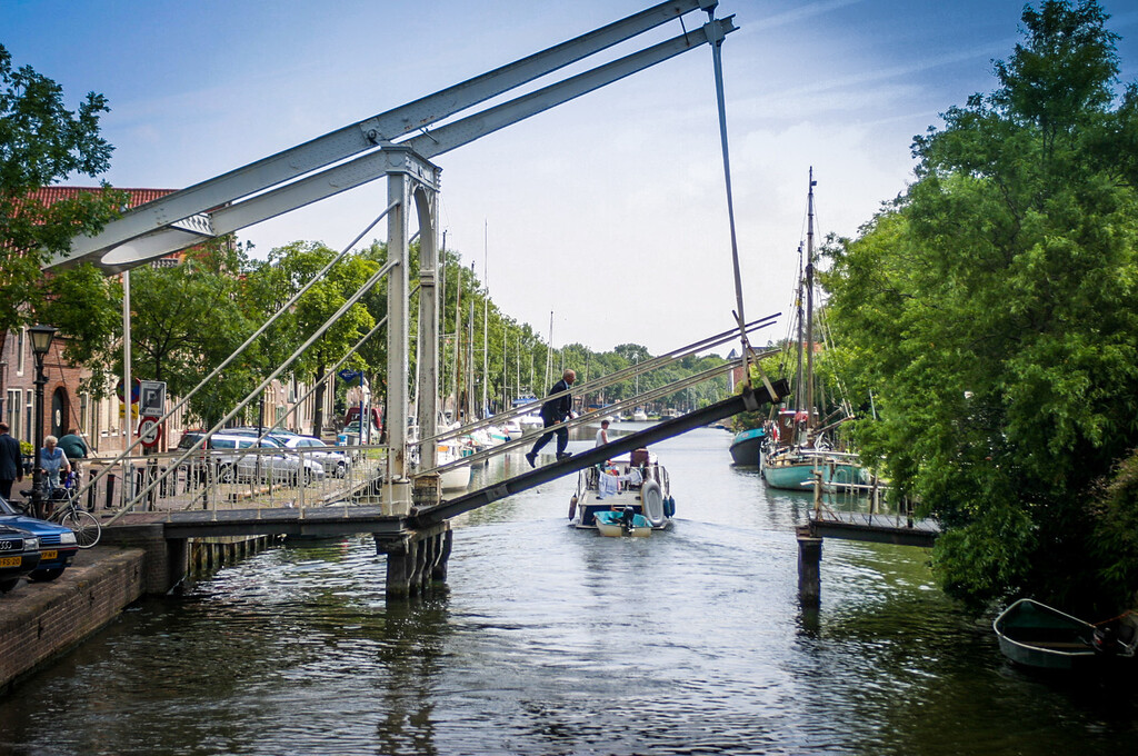 Edam, The Netherlands<br /> Crossing.