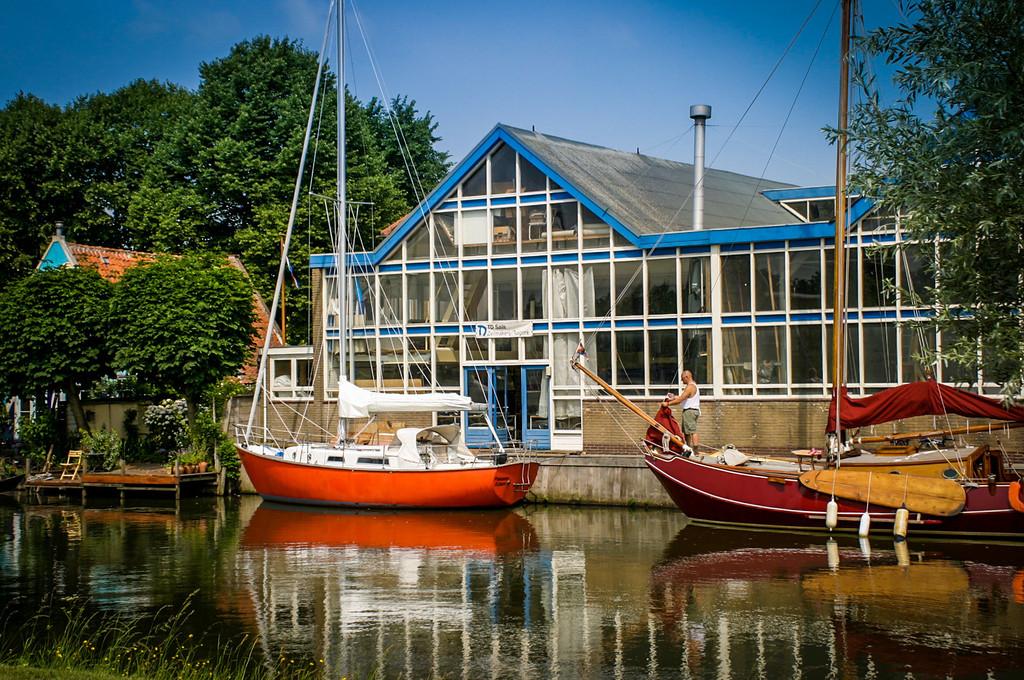 Edam, The Netherlands<br /> Zeilmaker (Sailmaker).