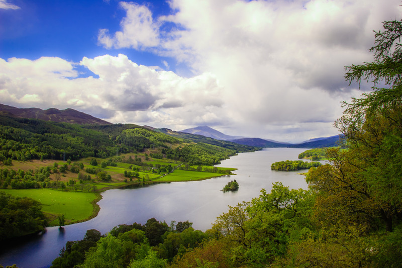 Queens View Lookout, Pitlochry, Scotland