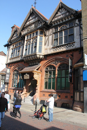 The Beany Institute, Public Library and Museum, Canterbury.<br /> 22 September 2012