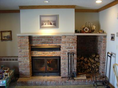 Carbon Fiber handles for Wilkening Fireplace