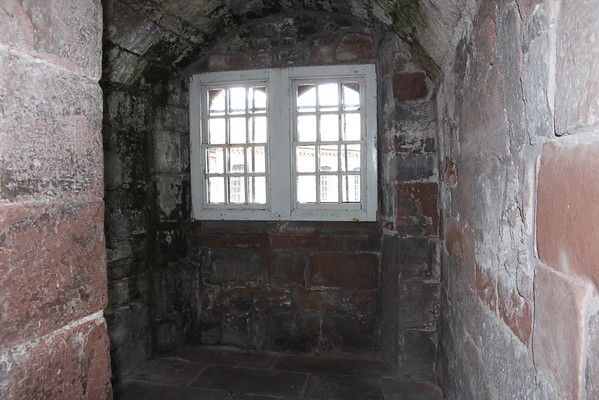 A small room in the Captain's Tower.<br /> Carlisle Castle<br /> 25 July 2015