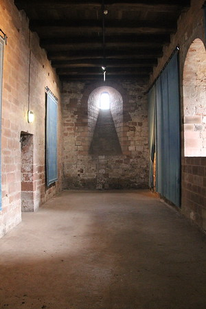 In the Keep.<br /> Carlisle Castle<br /> 25 July 2015