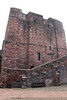 West side of the Keep.<br /> Carlisle Castle<br /> 25 July 2015