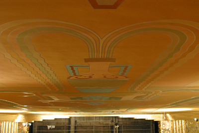 Photos taken during tour of Cascade Theater during renovation May 2003