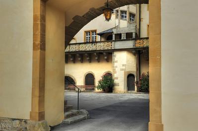 Schlosshof Langenburg