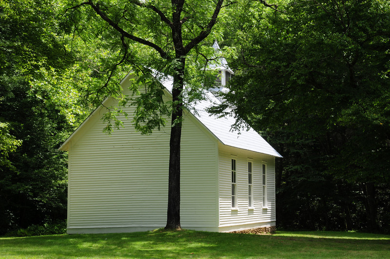 Palmer Chapel, built in 1898 on land deeded by Mary Ann Palmer
