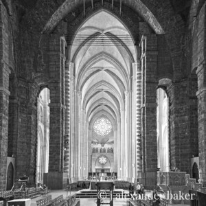Interior in Back and White, St. John the Divine