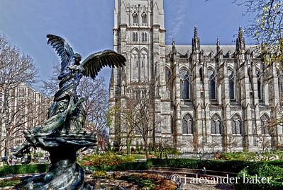 In the Gardens of St John the Divine