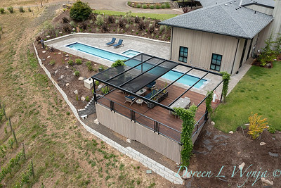 2 Mules poolside patio from the sky_7144